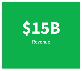 15 Billion Revenue
