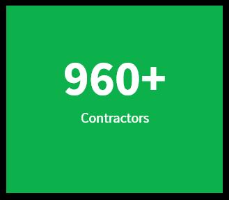 960+ Contractors