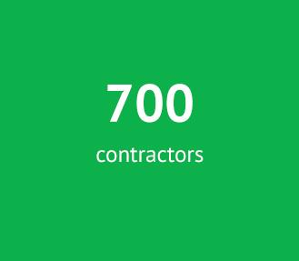700 Contractors