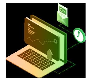 Automatic Distribution Illustration