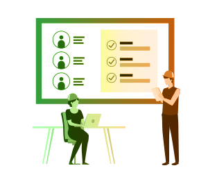 Worker management with Avetta illustration