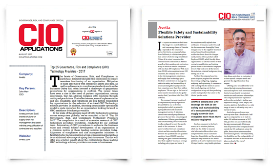 Avetta-CIO-Applications-Award-Article