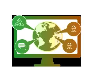 Multi-Language Platform Illustration